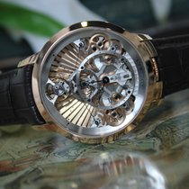 Arnold & Son Instrument Collection Time Pyramid Guilloche