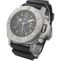 Panerai PAM00187 PAM 187 - Submersible Chrono 1000m in Steel -...