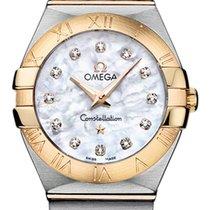 Omega Constellation Brushed 27mm 123.20.27.60.55.002
