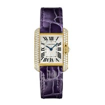 Cartier Tank Anglaise Quartz Ladies Watch Ref WT100014