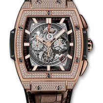 Hublot Spirit of Big Bang Chronograph King Gold Leather...