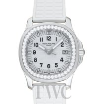 Patek Philippe Ladies Aquanaut White G 35.6mm 2016 - 5067A-024
