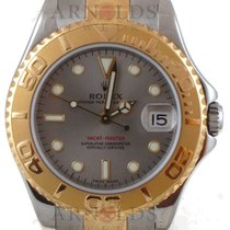 Rolex Midsize Yachtmaster Two Tone Steel Dial