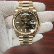 Rolex Day-Date 40  Chocolate Diamond Dial 228235 CHBDP