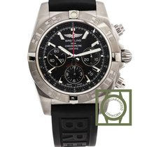 Breitling Chronomat 44 Flying Fish Black Onyx Dial Rubber...