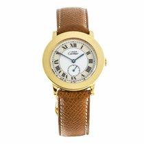 Cartier Must de Cartier Argent Plaque Quartz Watch 1810...