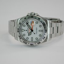Rolex Explorer II 2 Stainless Steel White Dial w/Box+Papers-21...
