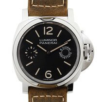 沛納海 (Panerai) New  Luminor Stainless Steel Black Manual Wind...