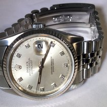 Rolex Datejust  Bisel gold dial diamond