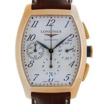 Longines Evidenza Chronograph Rose Gold Men's Watch