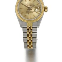 Rolex | A Lady's Stainless Steel And Yellow Gold Automatic...