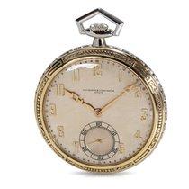 Vacheron Constantin Vintage Pocket Watch in 18K White Gold...