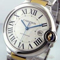 Cartier Ballon Bleu  W69009z3 42 Mm Stainless Steel 18k Yellow...