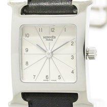 Hermès H Watch Double Tour Steel Quartz Ladies Watch Hh1.210...