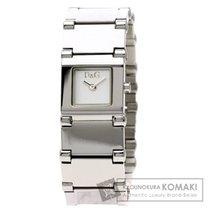 Dolce & Gabbana ドルチェアンドガッバーナ スクエアフェイス 腕時計 ステンレススチール レディース
