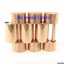 Rolex Aftermarket 18k Rose Gold Links for Mens President Band