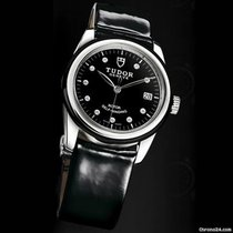 Tudor Glamour Date 36 Mm Automatic, Black Case