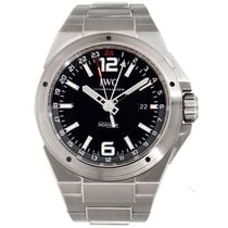 IWC Ingenieur Black Dial Stainless Steel