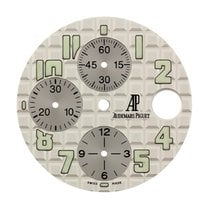 Audemars Piguet 42mm White Méga Tapisserie Pattern Custom Dial
