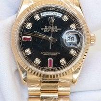 Rolex Day-Date 36 Watch: 18 ct yellow gold 118238