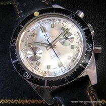 PIERCE Divers Chronograph Rare  660ft / 200 mtr ALL Orig &...