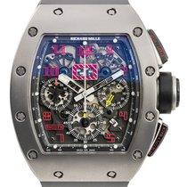 Richard Mille RM 011 Sandblast Automatic Flyback Chronograph...