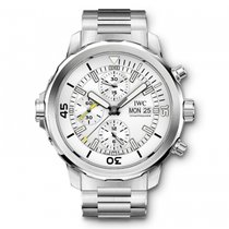 IWC Aquatimer Chronograph DIVER'S Automatic Silver Dial...