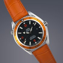 Omega Seamaster Planet Ocean Co-axial watch FULL SET
