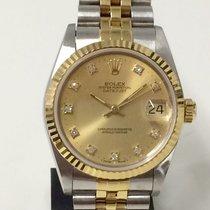 롤렉스 (Rolex) Datejust Medium Size 31mm Diamond Dial + Guarantee