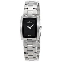 Movado Eliro Black Dial Ladies Watch