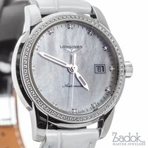 Longines Saint Imier MOP Dial Diamond Bezel Automatic 30mm...