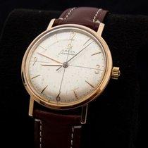 Omega Seamaster 18 kt gold men's wristwatch, 1961.