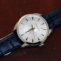 Hamilton JAZZMASTER LADY AUTO White-Blue Leather 30mm H-42215651
