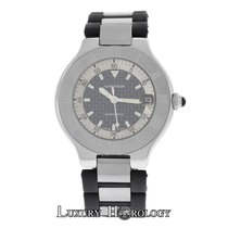 Cartier Authentic Unisex Cartier 2427 Autoscaph Steel Automati...