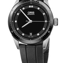 Oris Artix GT Date, Diamonds, Ceramic Top Ring, Rubber