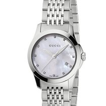 Gucci G-Timeless Mother of Pearl Dial 27mm YA126504