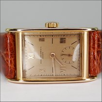 Patek Philippe Rectangular Vintage 18kt Rose Gold Ref. 1560