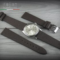 Cinturino in pelle 20 mm LS FASHION Watch Strap Band for Omega...