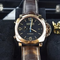 Panerai PAM00525   LUMINOR 1950 3 DAYS CHRONO FLYBACK  ROSE GOLD