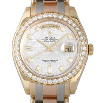 롤렉스 (Rolex) Day-date bezel diamond BIC METEO
