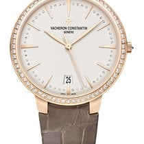 Vacheron Constantin Patrimony Small Model Diamonds Pink Gold 18k