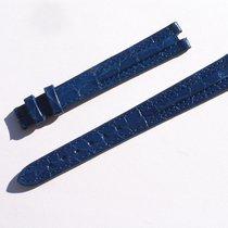 Zenith Croco Band Armband Blau Blue 13 Mm Für Dornschliesse...