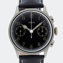 Lemania Vintage Military 15 TL / 33.3 Chronograph / 37 mm / 1940