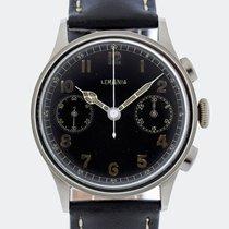 レマニア (Lemania) Vintage Military 15 TL / 33.3 Chronograph / 37...