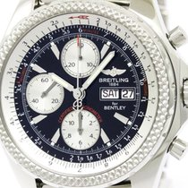 Breitling Polished Breitling Bentley Gt Steel Automatic Mens...