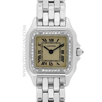 Cartier 18k white gold ladies Panther