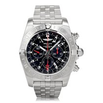 Breitling Chronomat GMT Steel Limited Edition Mens Watch...