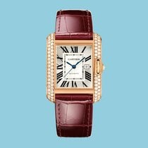 Cartier TANK ANGLAISE 39 Rotgold -NEU- incl. VAT Export possible