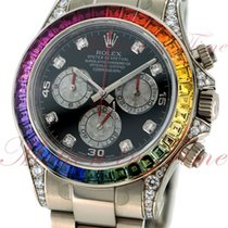 Rolex Oyster Perpetual Cosmograph Daytona Rainbow, Black Dial...