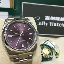 Rolex Cally - 116000 Oyster Perpetual Red Grape Purple Dial 36mm
